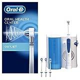 Oral-B Irrigador Bucal Con Tecnología Oxyjet De Braun, 4 Cabezales De Recambio Oxyjet, Microburbujas Para Una Limpieza Dental Complet